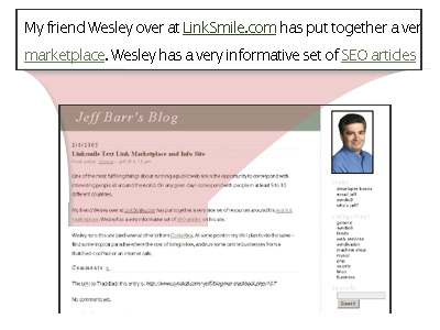 Text Link Ad and Banner Examples